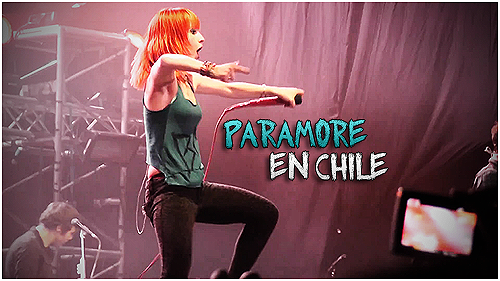 Paramore En Chile 2011 by X-Hound
