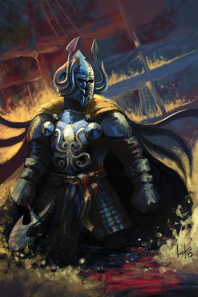 Victarion Greyjoy by yongs on DeviantArt |Victarion Greyjoy Helm