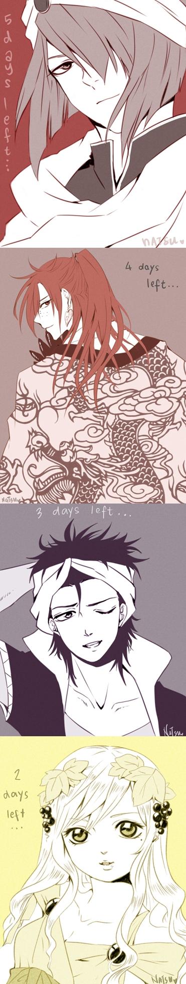 Magi: Countdown by NatsuPi