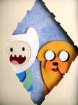 Adventure Time Shadowbox