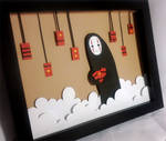 Spirited Away - No Face Shadowbox by Hatpire