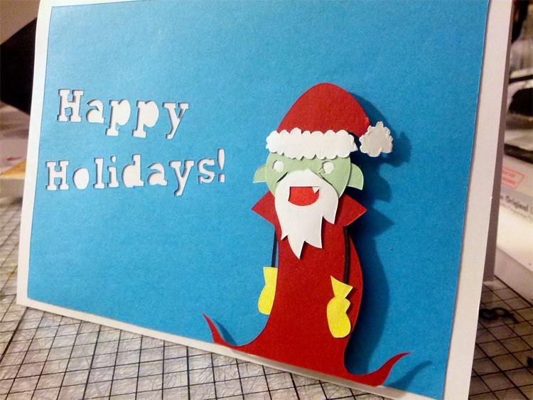 Grampire's Christmas Greetings by Hatpire