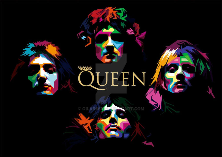 Queen wpap by gilar666 on deviantart queen wpap by gilar666 stopboris Choice Image