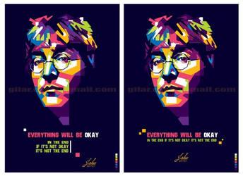 John Lennon Popart by gilar666