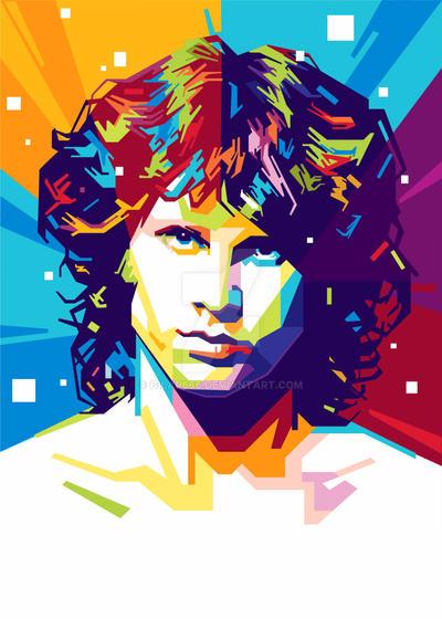 Jim Morrison Illustration by gilar666