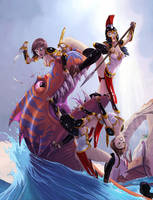 Amazons by Alexi-C
