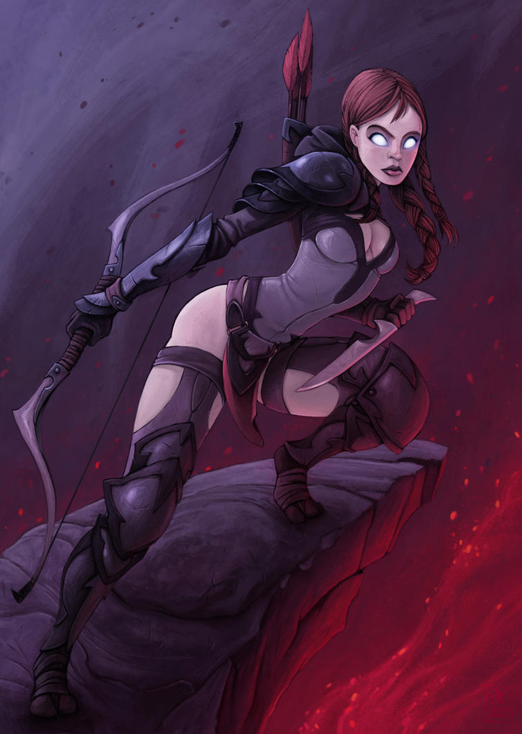 Diablo character (second image) by alexichabane