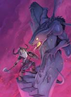 Dwarf vs. deamon by Alexi-C