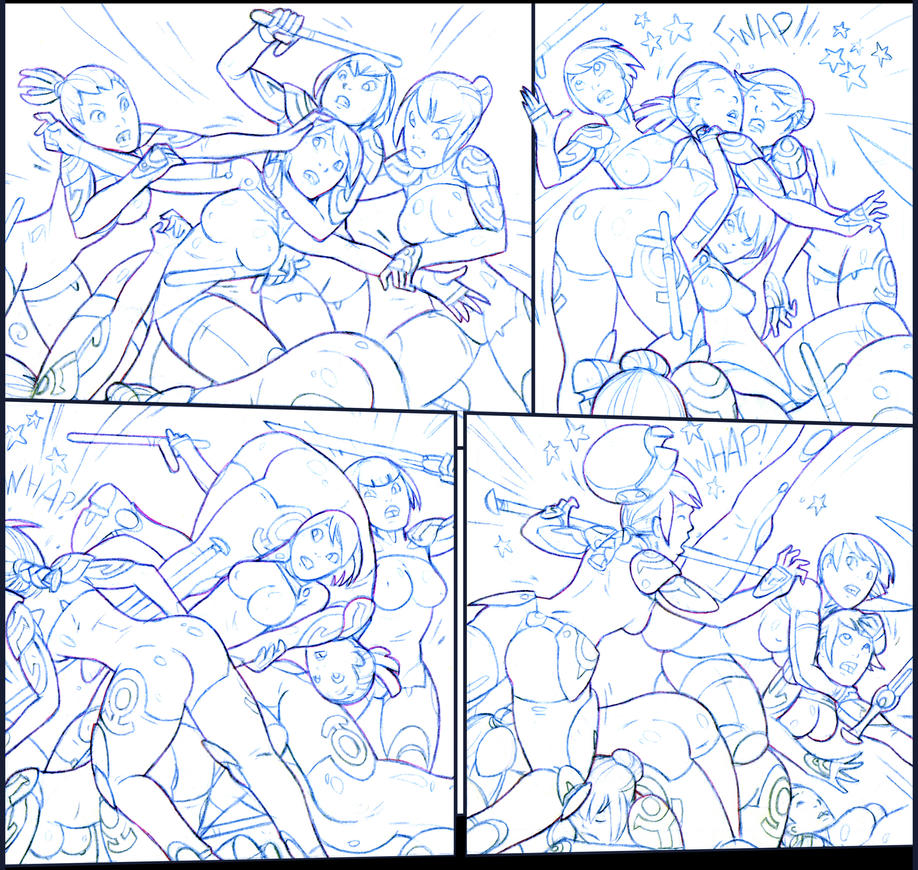 Jaxtraw Studios - Lucy Lastique; Erotic Sci-Fi Comic