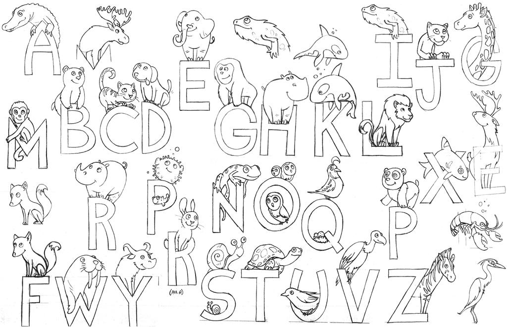 Animal letter drawings by alexi c on deviantart animal letter drawings by alexi c thecheapjerseys Images