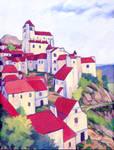 Village Painting