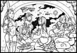 Kalin's Promotion (Inktober)
