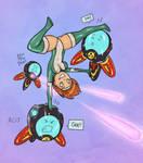 Mel vs. Robots!
