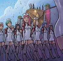 Nurse Corps (Color Sketch)