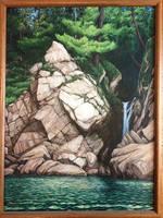 <b>Lakeside Waterfall</b><br><i>Alexi-C</i>
