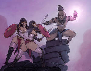Amazons and Bes