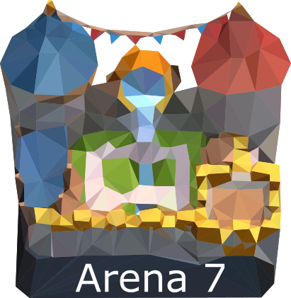 Low Poly Royal Arena! by Zakenmaru