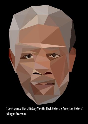 Morgan Freeman by Zakenmaru
