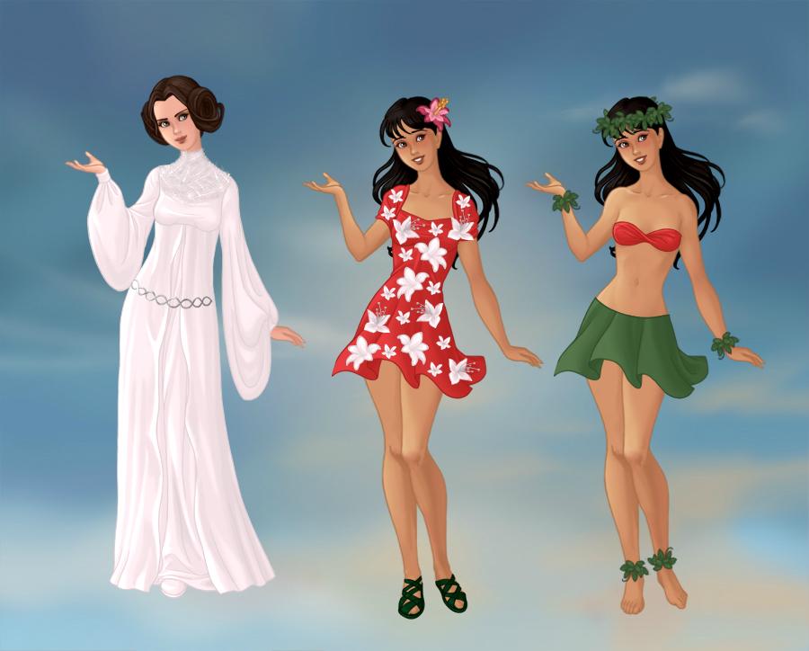 Non/Disney Goddesses - L by M-Mannering on DeviantArt