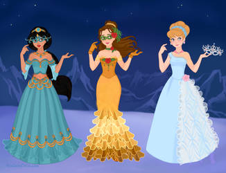 Disney Masquerade 2 by M-Mannering