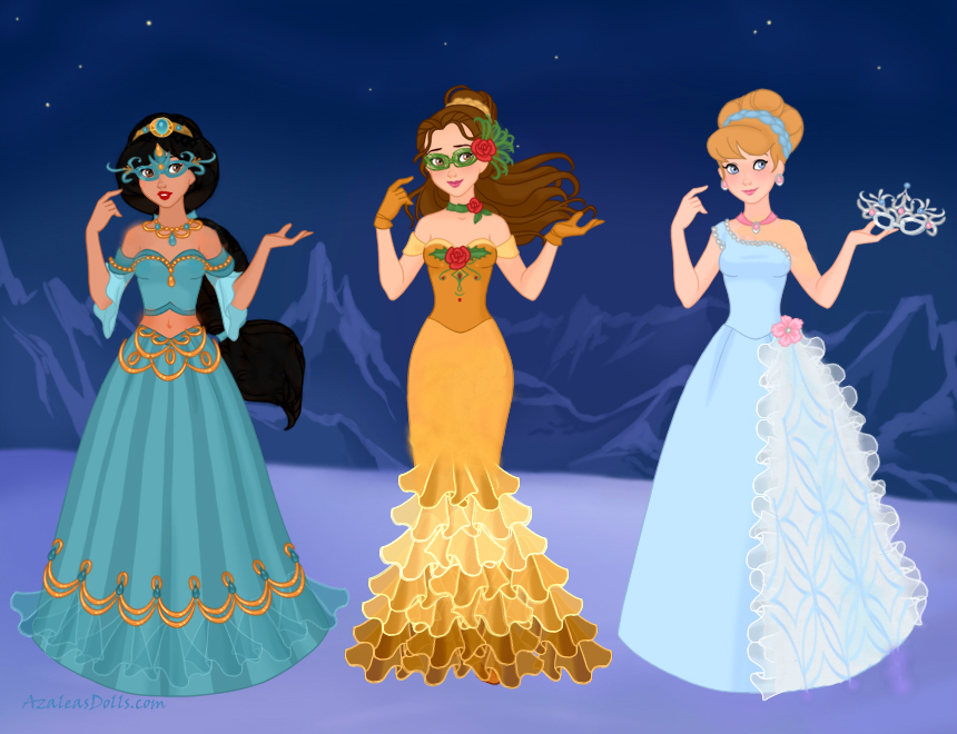 Disney Masquerade 2 By M Mannering On Deviantart