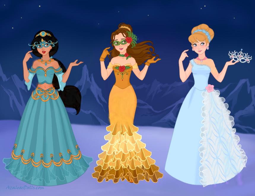 Disney Masquerade 2 By M Mannering On Deviantart