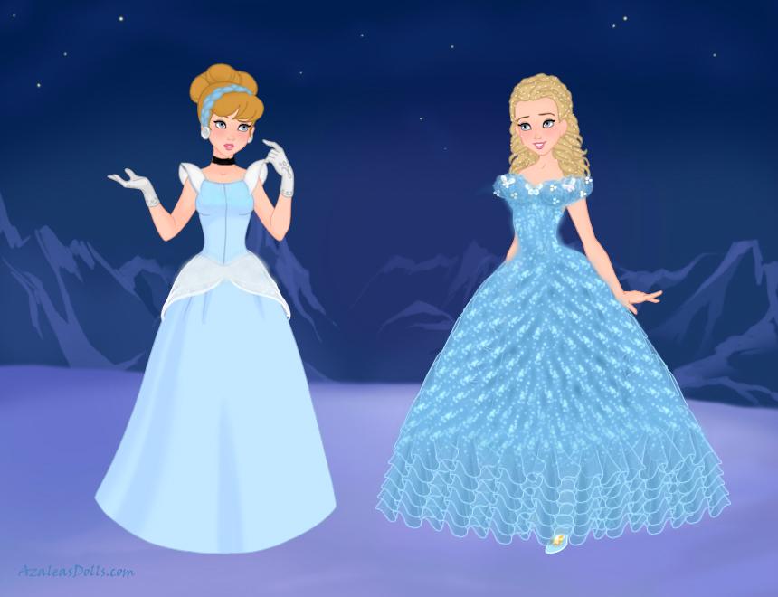 d636eef7140c0 New Cinderella by M-Mannering on DeviantArt
