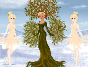 Dryad and Sprites