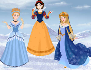 Historically Accurate Disney Princesses 1