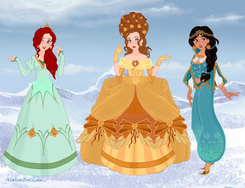 Historically Accurate Disney Princesses 2