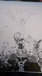 Inktober 10/12/17- Shattered by ObscureDemon
