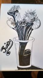 Inktober Juicy by ObscureDemon