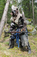 Goblin or Orc shaman larp by Markehed