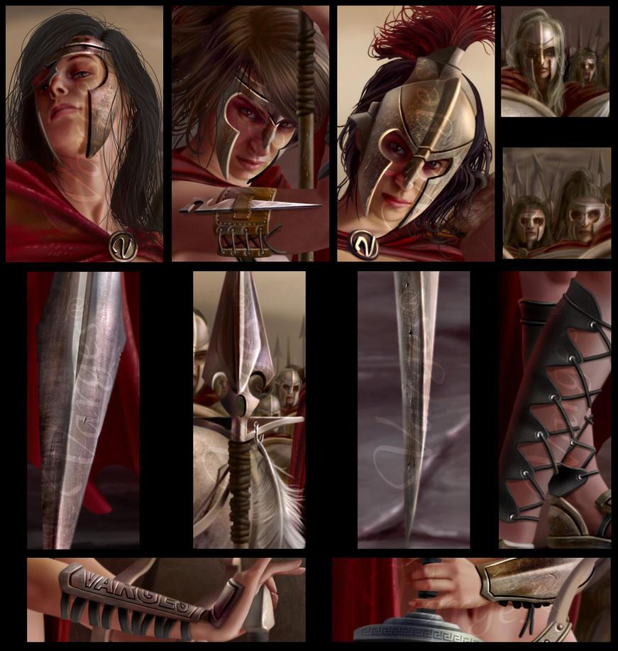 Spartan Army  - Detalles by Varges