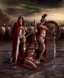 Spartan Army by Varges