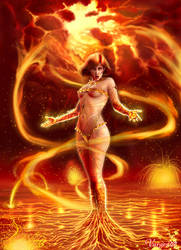 The 4 Elements - Fire by Varges