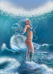 The 4 Elements - Water by Varges