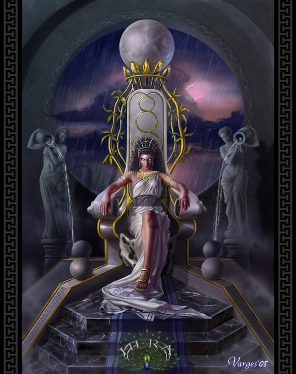 """Mitología Griega!""""(dioses principales) Hera_by_Varges"""