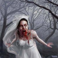 The bride of the night by Varges
