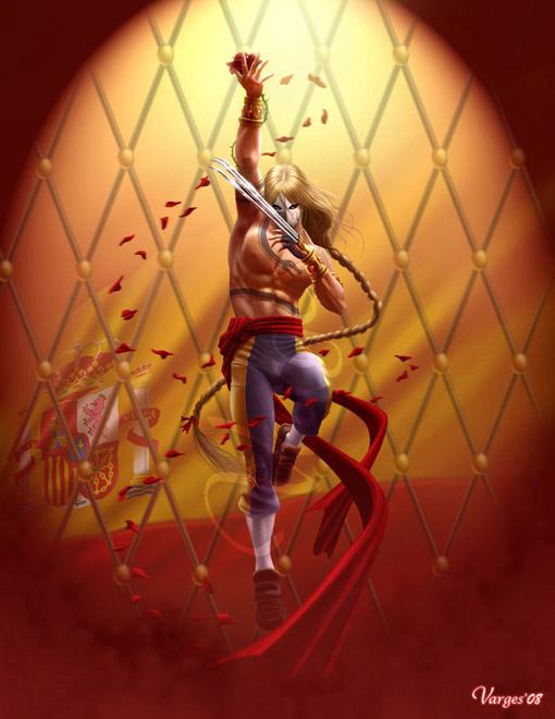 Street Fighter Tribute Vega By Varges On Deviantart