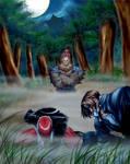Iori and Kyo VS Gouki
