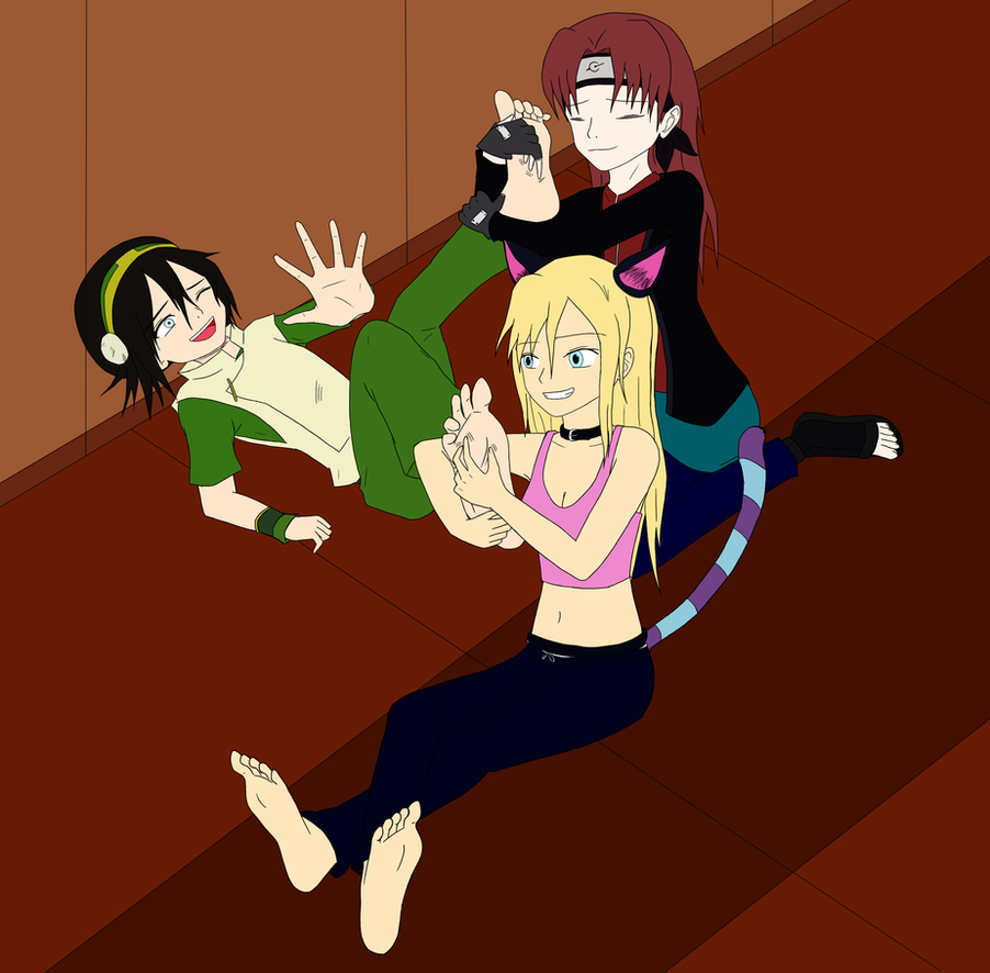 Ticklish Toph 2.0 By Sideral-Laugh By Neverb4 On DeviantArt