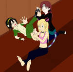 ticklish Toph 2.0 by Sideral-Laugh