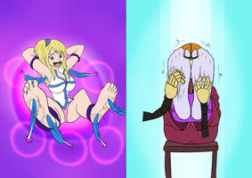 Lucy / Kula in torture remake 2 by orochitickle by neverb4