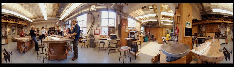 Wood Shop pano