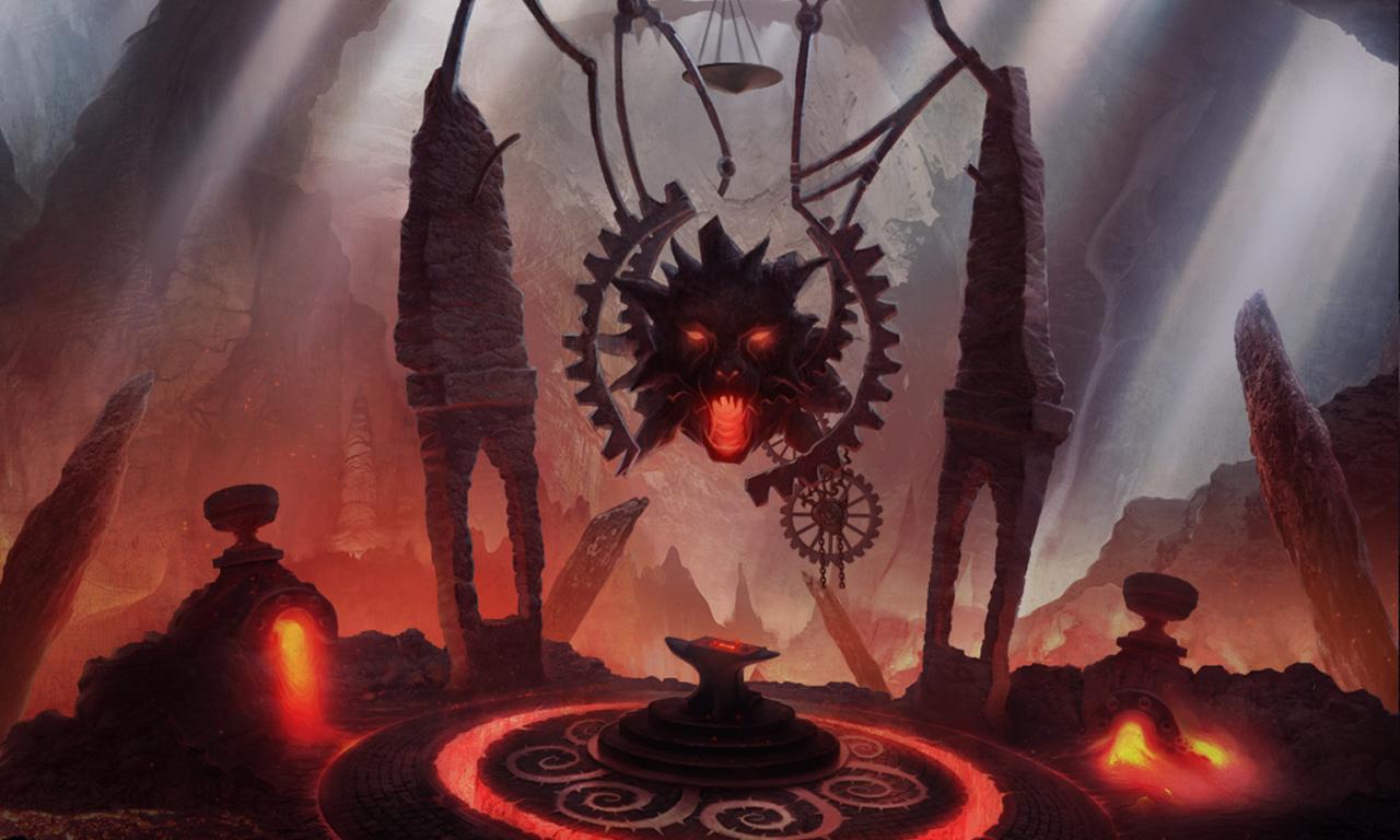 Demon smithy by KoTnoneKoT