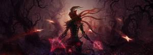 Demon hunter by KoTnoneKoT