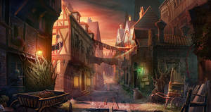 old town by KoTnoneKoT