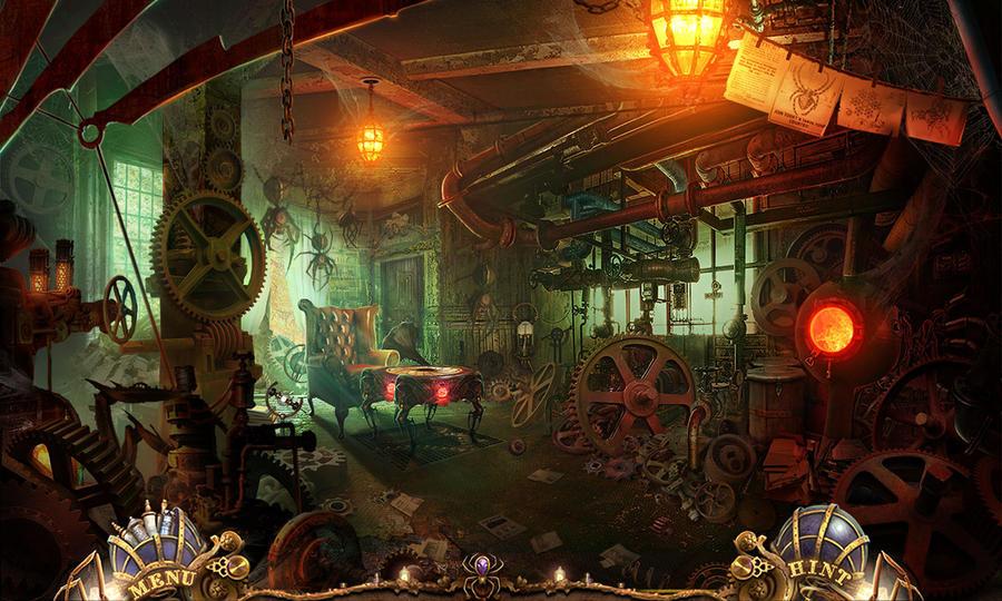 Steampunk workshop by KoTnoneKoT