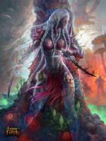 dark elf with daggers #1 by KoTnoneKoT